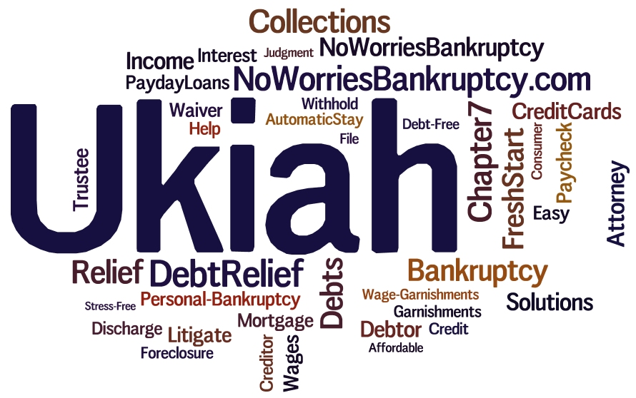 Ukiah wage garnishment help