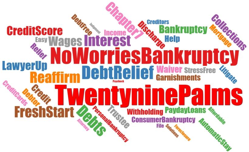 Twentynine palms bankruptcy attorney