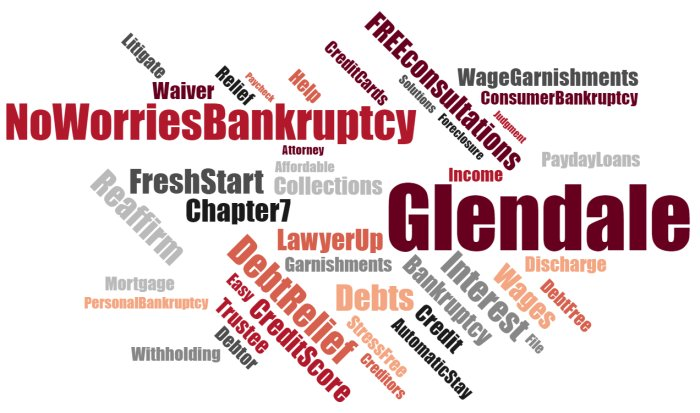 Cheap bankruptcy law firm near me in Glendale California