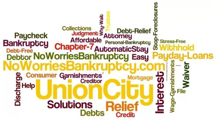 Union City wage garnishment lawyer