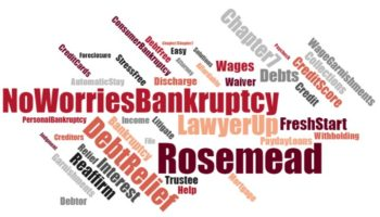 affordable bankruptcy lawyer in Rosemead