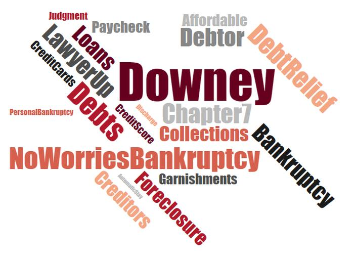 Cheap debt relief lawyer in Downey California